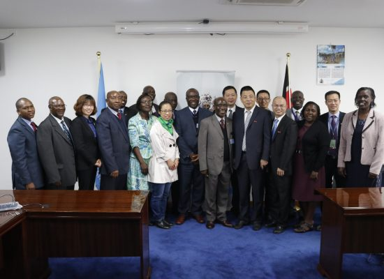 The University of Nairobi and UONAA receives  a delegation from Huaqiao University based in Xiamen/Quanzhou China.