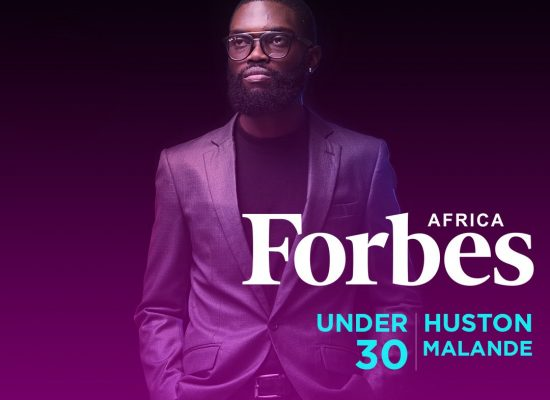 Huston Malande UoN Alumni named in Forbes Africa's 30 Under 30 2018