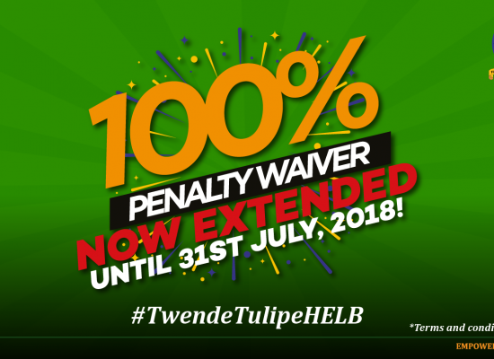 HELB PENALTY WAIVER EXTENSION