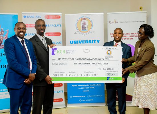 UONAA's Support towards the Nairobi Innovation Week 2019