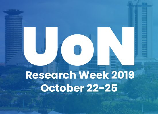 University of Nairobi Research Week 2019