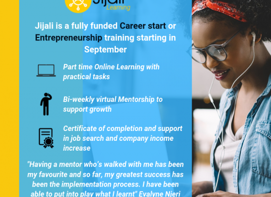 JIJALI VIRTUAL TRAINING AND MENTORSHIP PROGRAM
