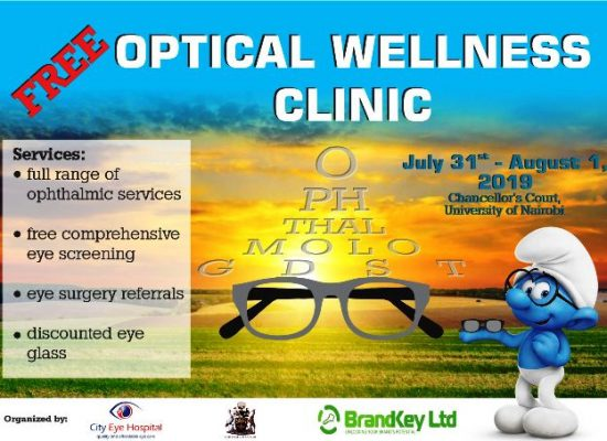 Free Optical Wellness Clinic at UoN Chancellors Court