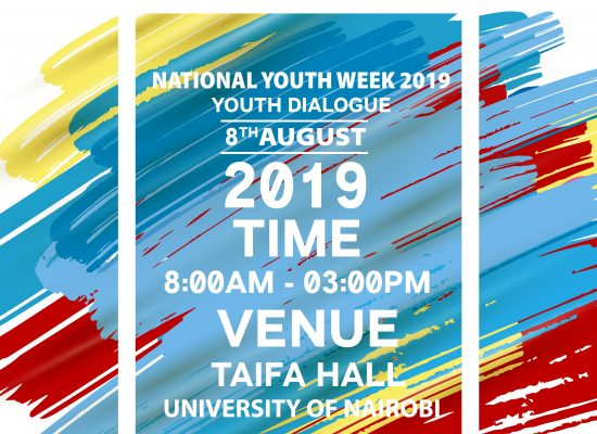 Nation Youth Week 2019 at UoN