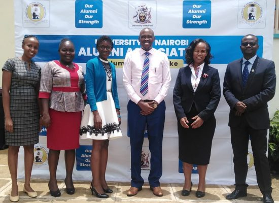 Daystar University Alumni Association Courtesy Call to UON Alumni Association