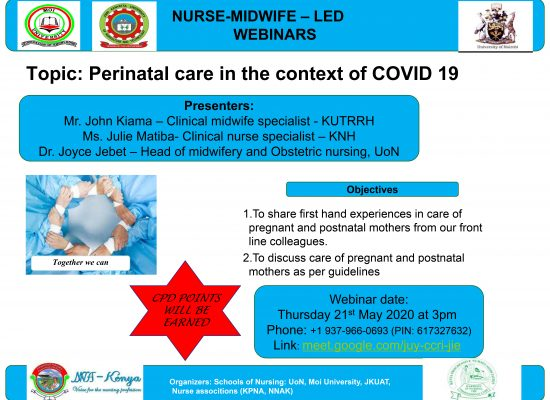 [WEBINAR] Perinatal care in the context of COVID 19