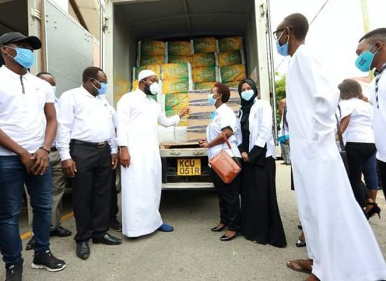 Mombasa County Household Relief and Nutrition Support Project Donation