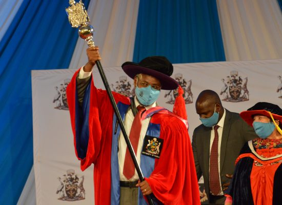 8th UoN Vice Chancellor Officially Installed
